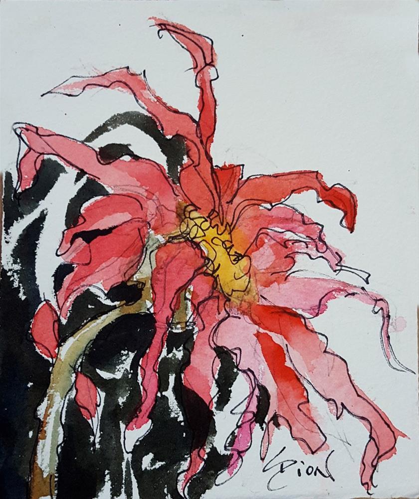 """Indirect Association"" original fine art by Sue Dion"