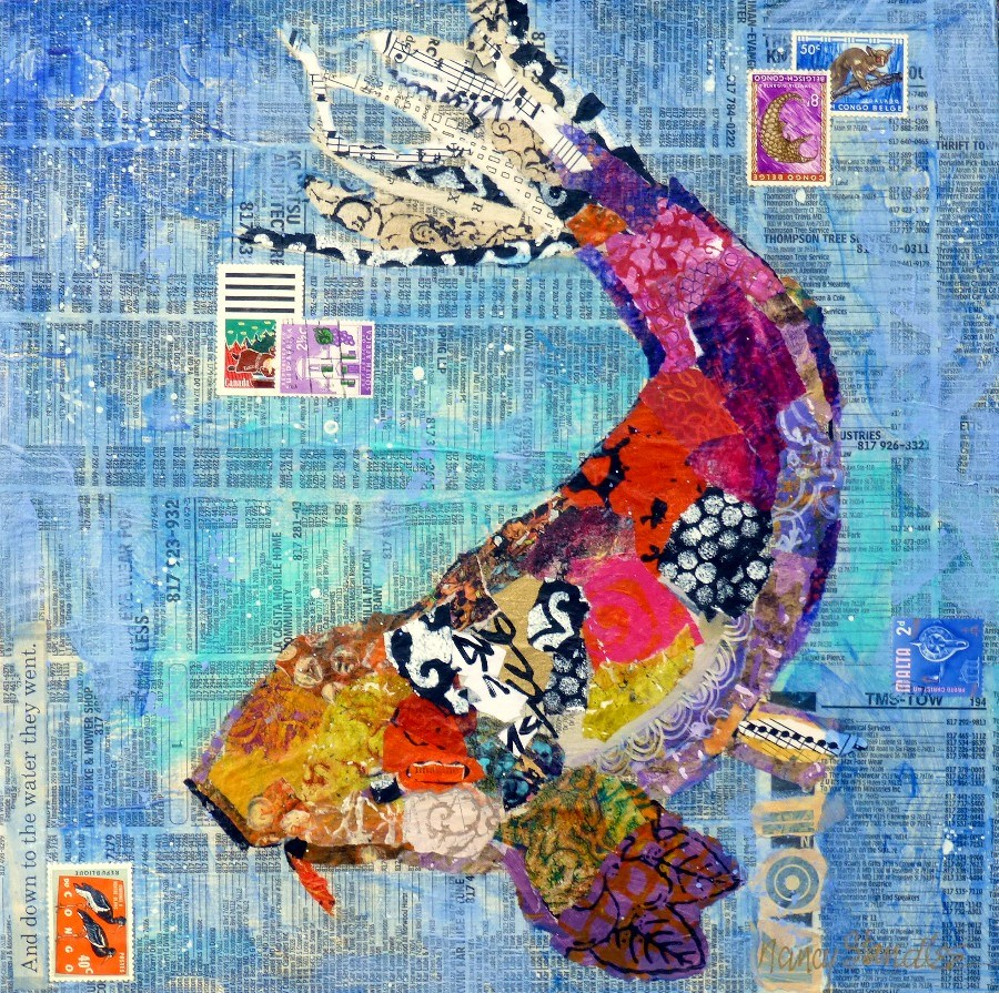 """Koi 13068"" original fine art by Nancy Standlee"