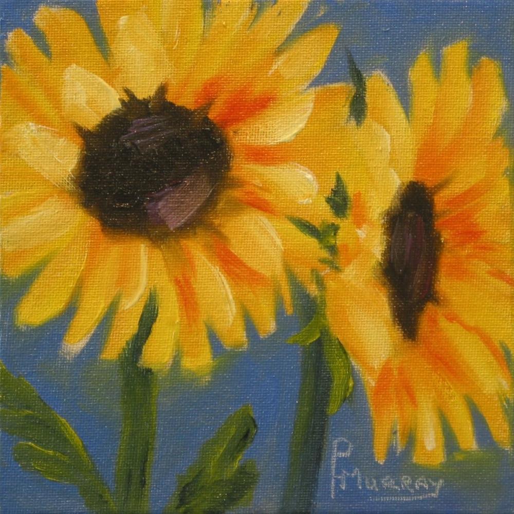"""""""Sunny"""" original fine art by Patricia Murray"""