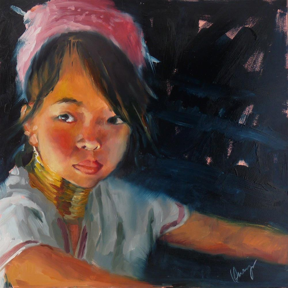 """Night Life"" original fine art by Sharman Owings"