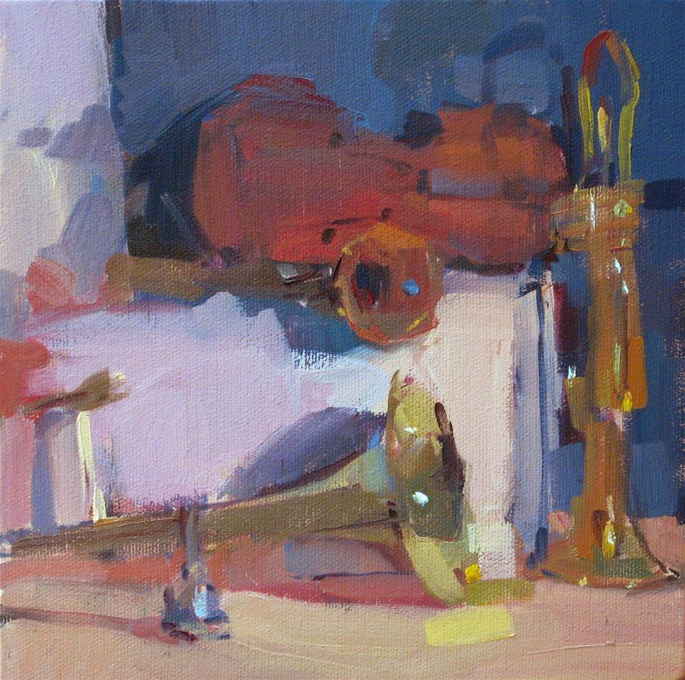 """The Red Violin (sketch)"" original fine art by Sarah Sedwick"