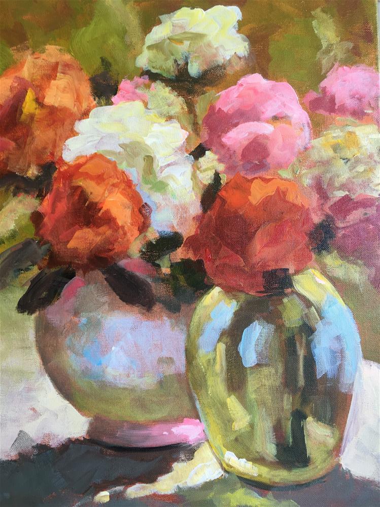 """Enchanted Class Demo V"" original fine art by Susan Elizabeth Jones"