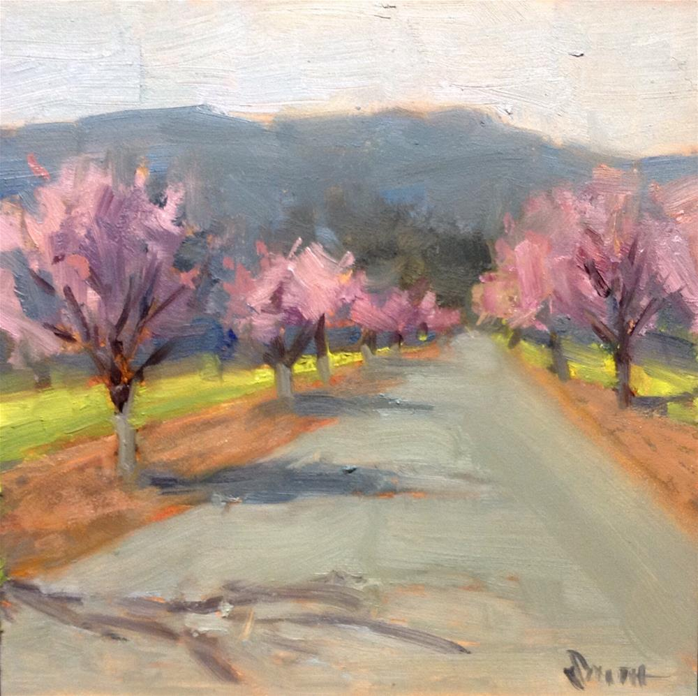 """""""Spring in the Valley"""" original fine art by Barbie Smith"""