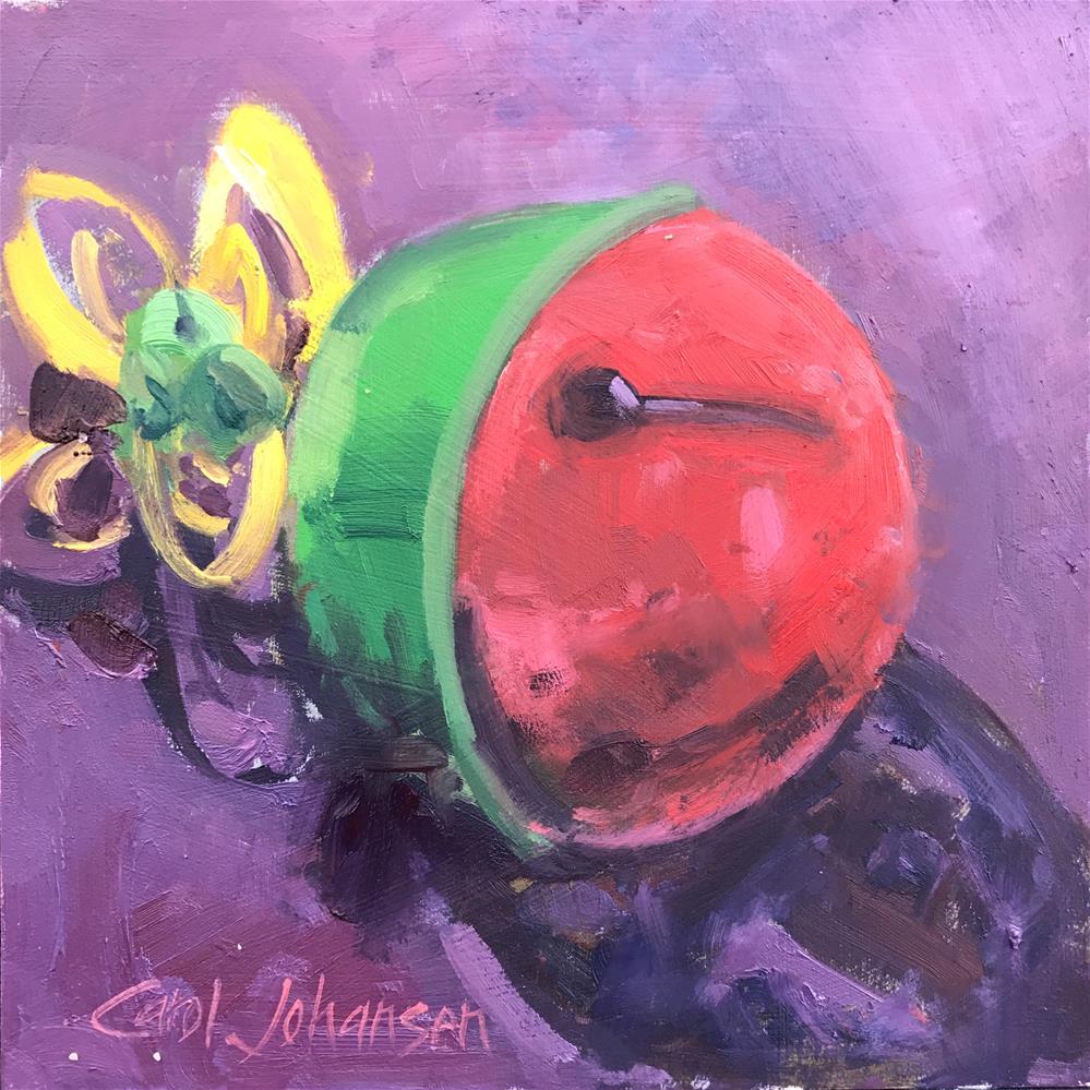 """Forgotten Bell"" original fine art by Carol Johansen"