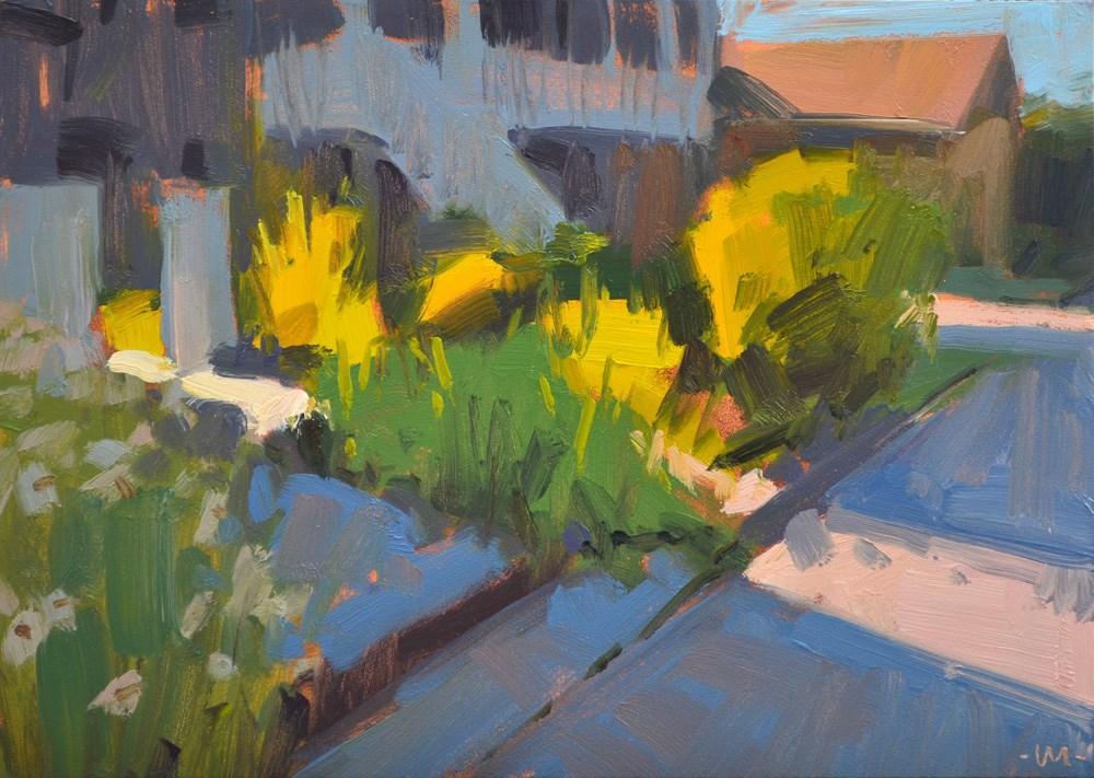 """Slanty Bits of Light 2"" original fine art by Carol Marine"