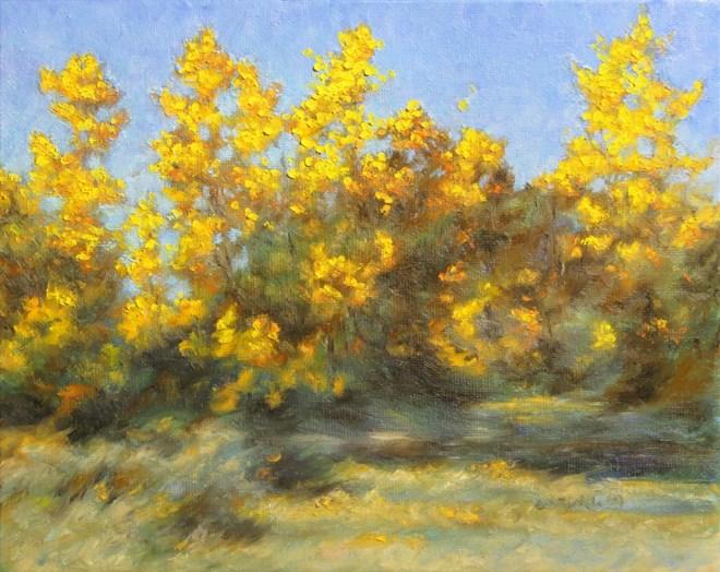 """""""Golden Bouquet"""" original fine art by Carol Zirkle"""