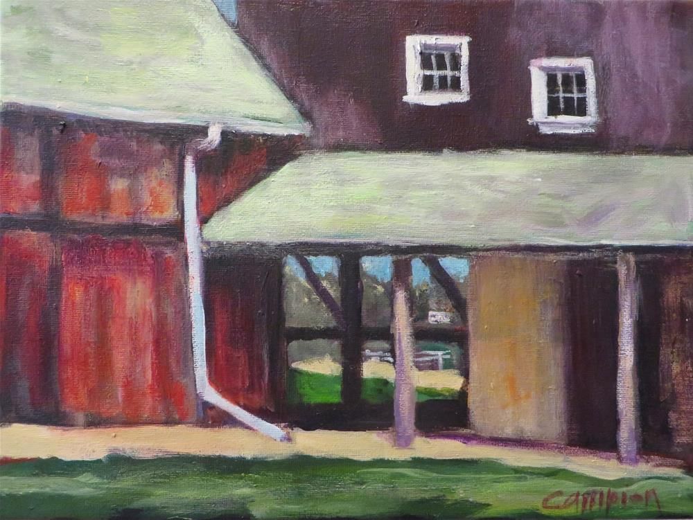 """864 Family Farm"" original fine art by Diane Campion"