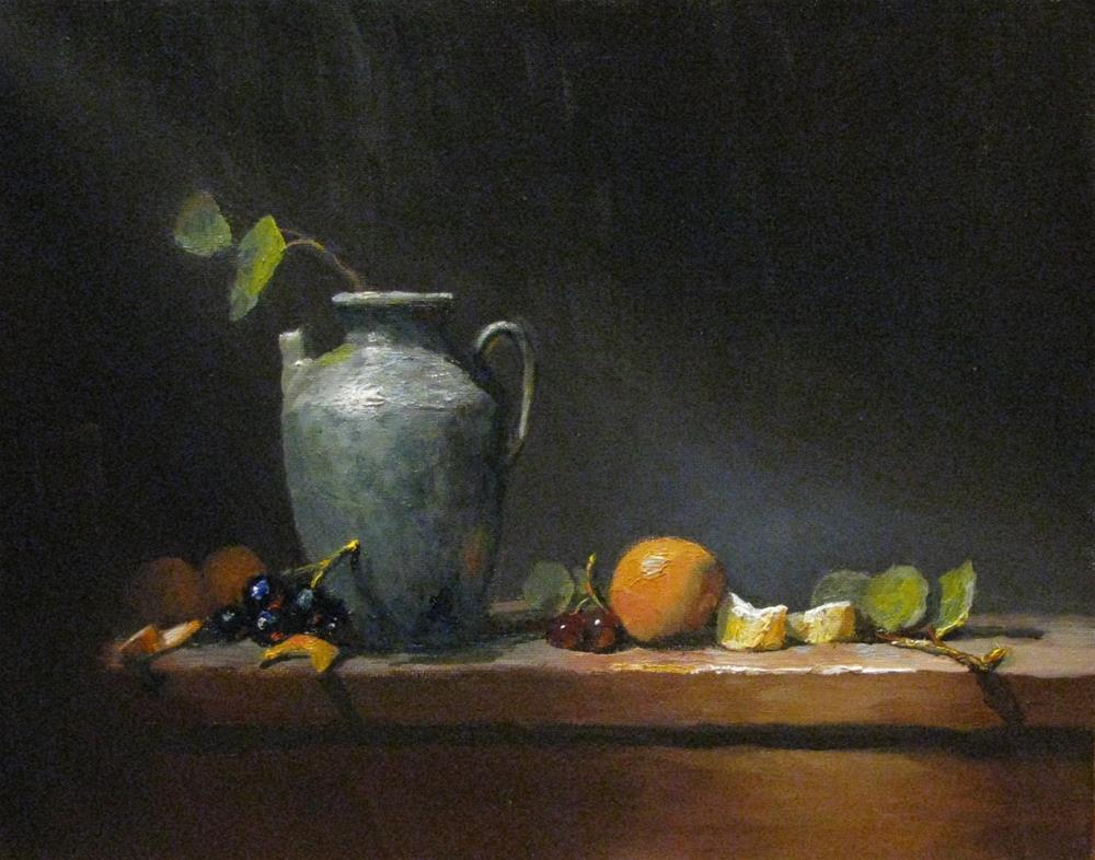 """A path of light"" original fine art by tom dawson"