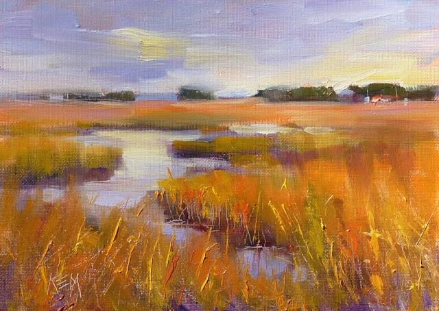 """""""SOS for Painting More Often"""" original fine art by Karen Margulis"""