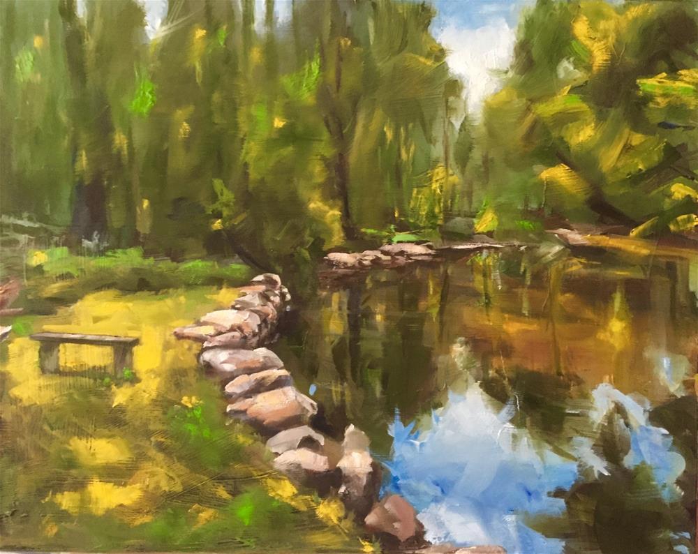 """Happy Place"" original fine art by Gary Bruton"