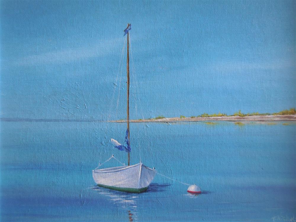 """Solitude"" original fine art by Terri Nicholson"