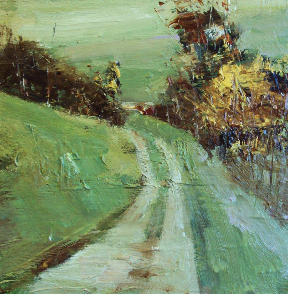 """country lane"" original fine art by Parastoo Ganjei"