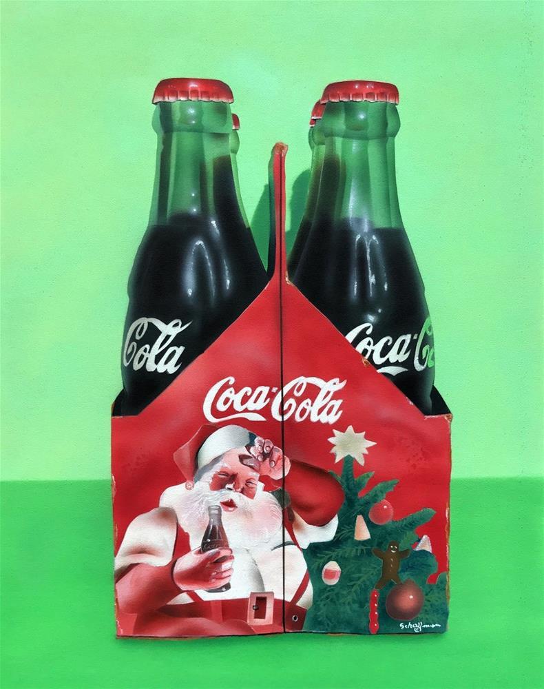 """Holiday Pop"" original fine art by Fred Schollmeyer"