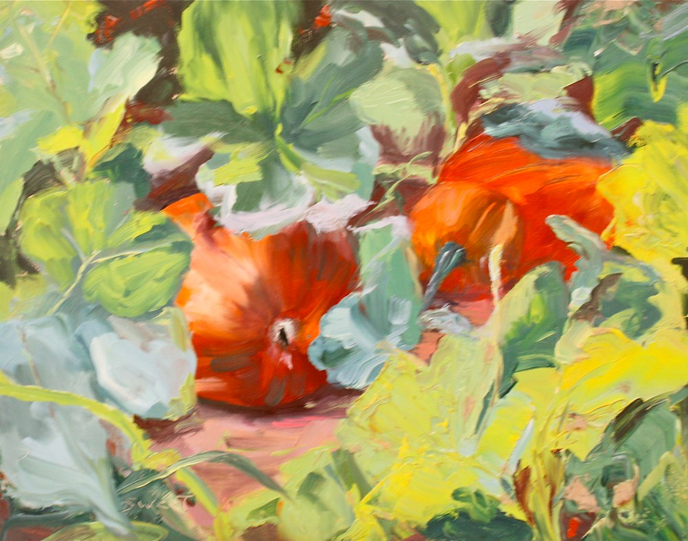 """The Fruit of the Vine"" original fine art by Pamela Sweet"
