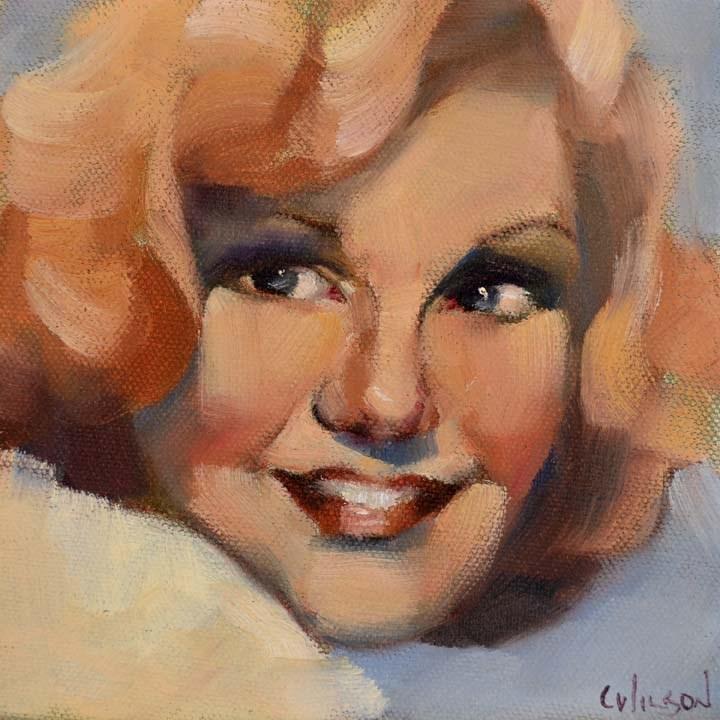 """Ginger"" original fine art by Cheryl Wilson"