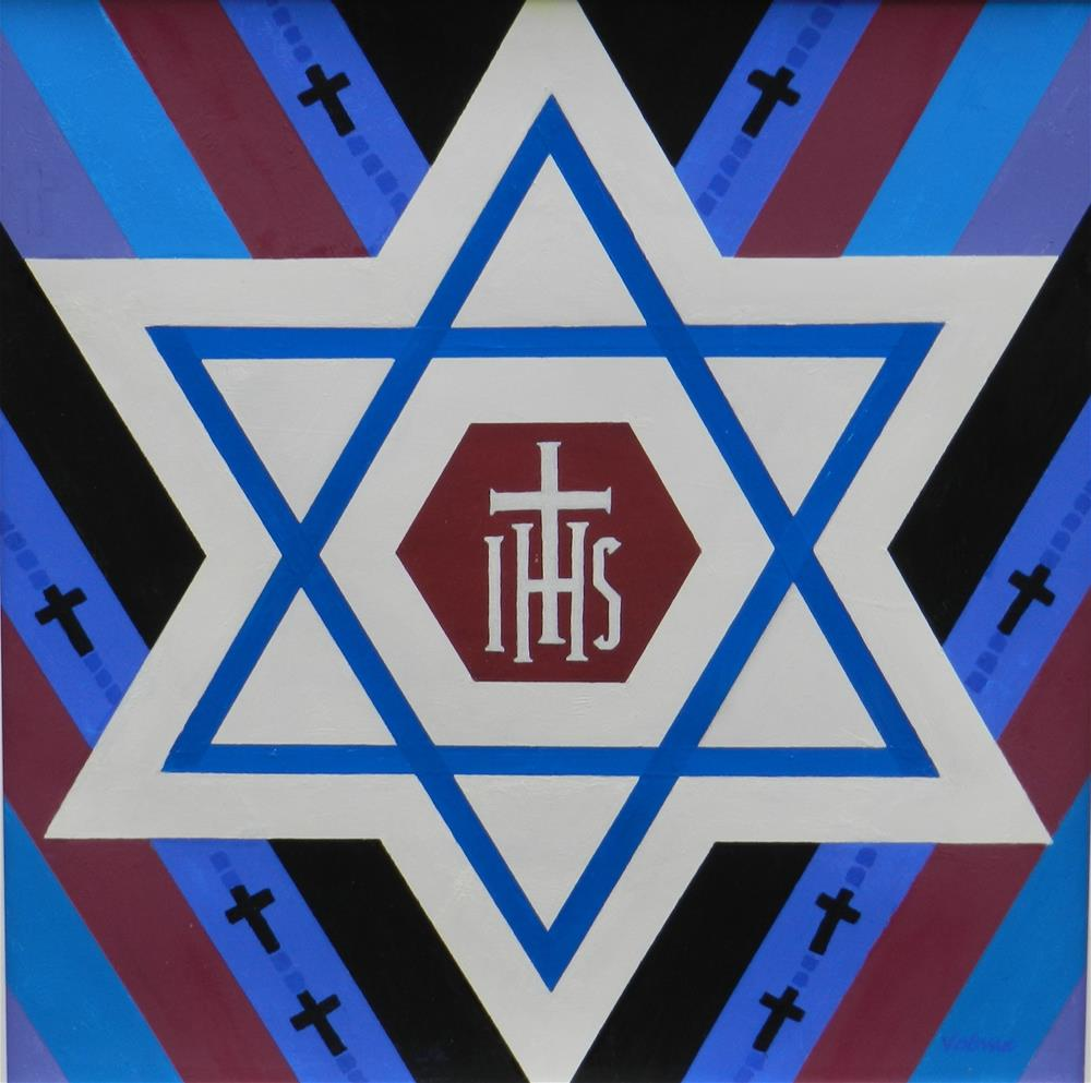 """Star Of David"" original fine art by Velma Davies"