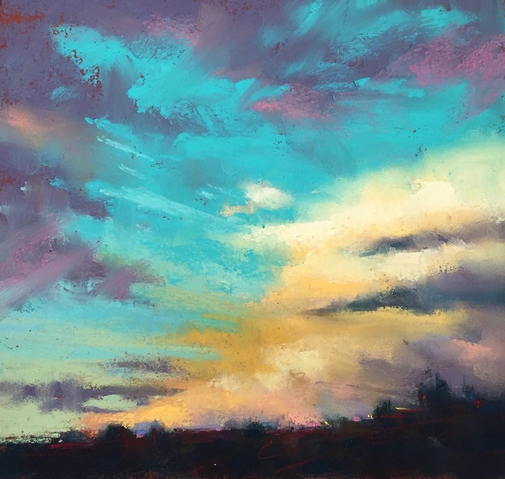 """Blue Skies Ahead"" original fine art by Marla Baggetta"