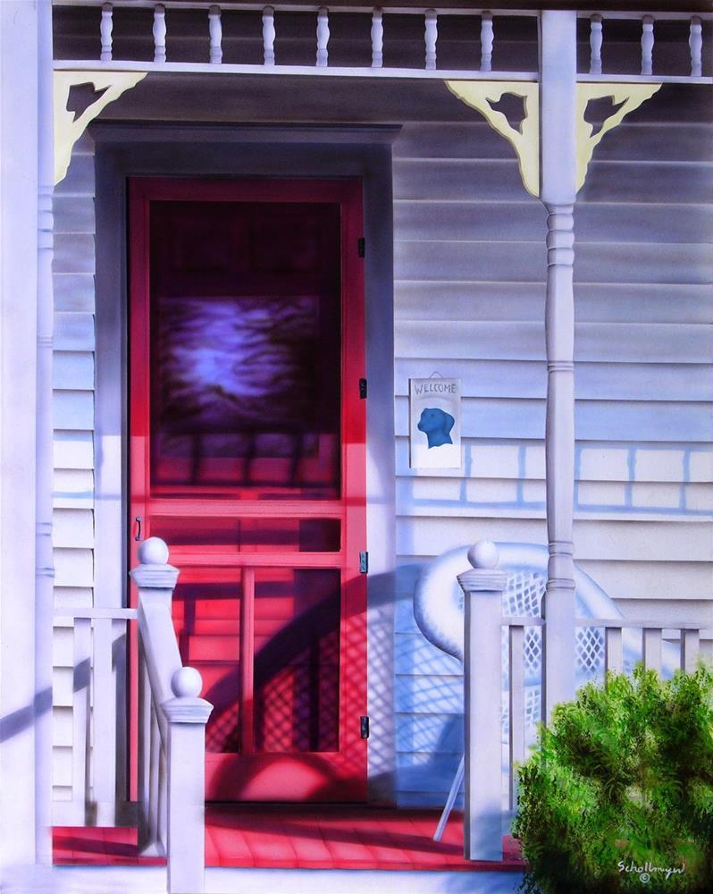 """Welcome Home"" original fine art by Fred Schollmeyer"