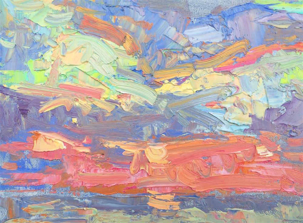 """Just a min to go "" original fine art by Michael Clark"