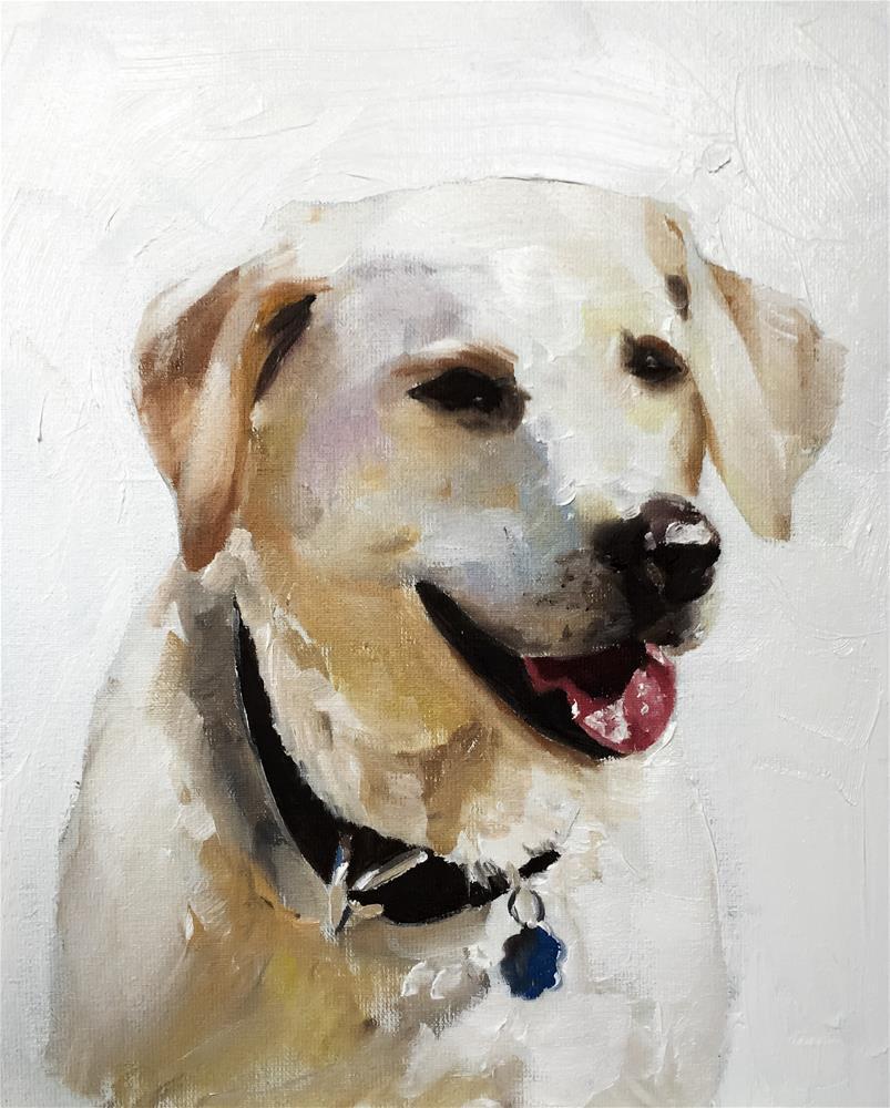 """Dog"" original fine art by James Coates"
