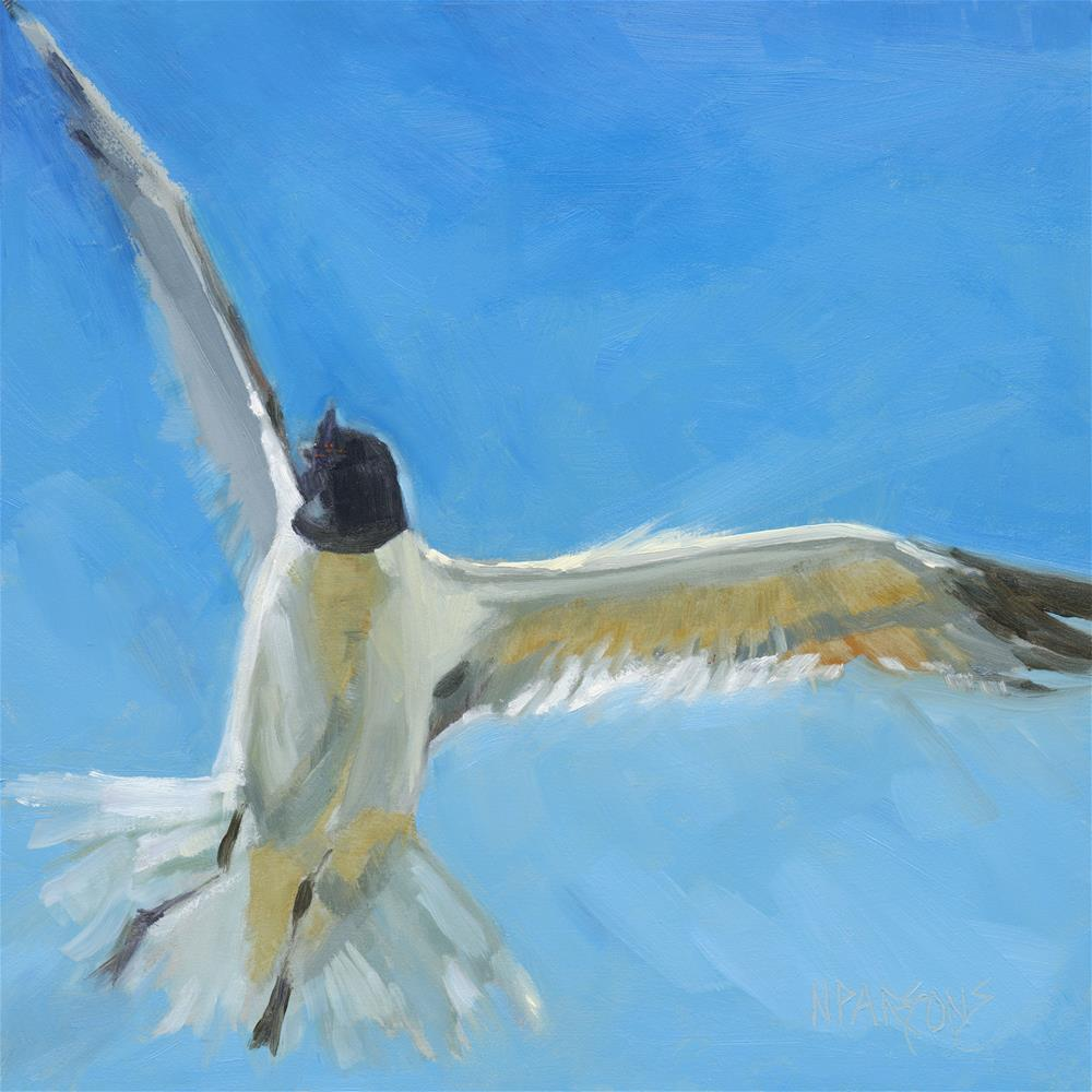 """""""Freedom's Song"""" original fine art by Nancy Parsons"""
