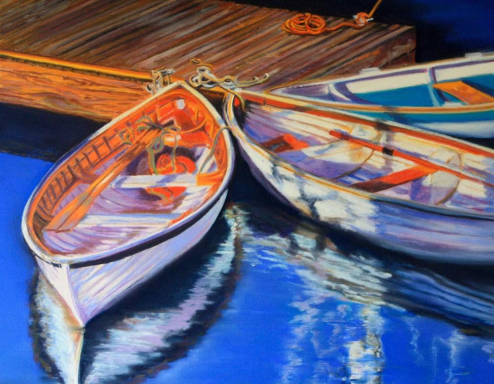 """""""Keeping the Faith"""" original fine art by Jill Bates"""