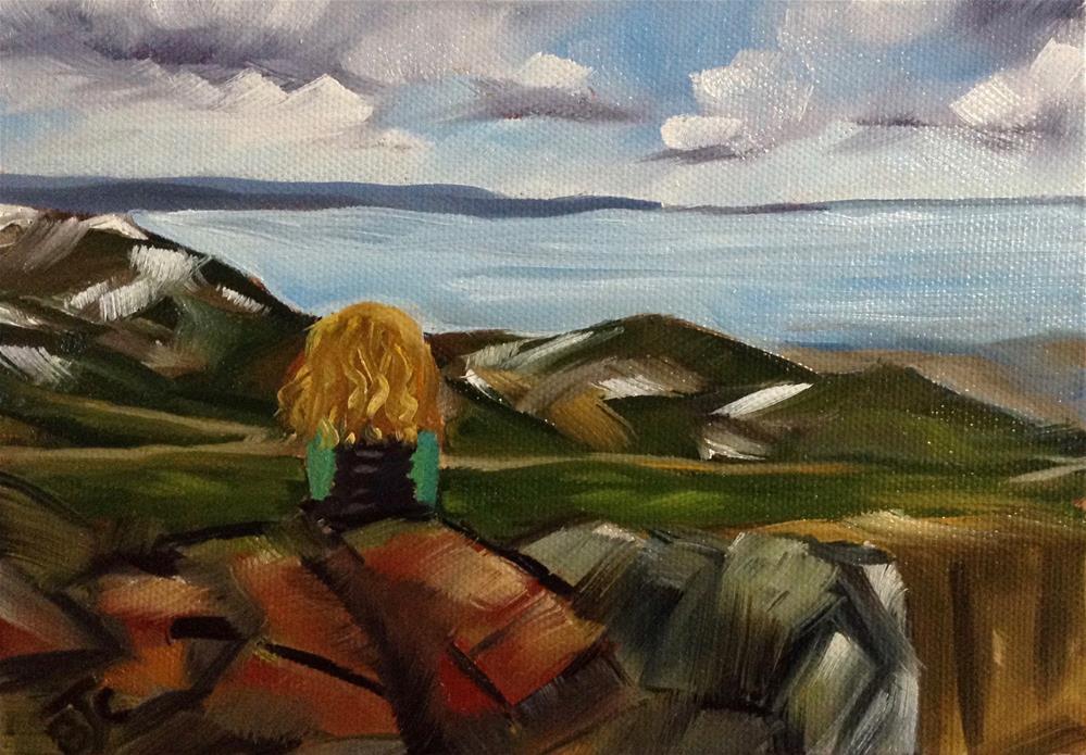 """""""Emily"""" original fine art by Bobbie Cook"""