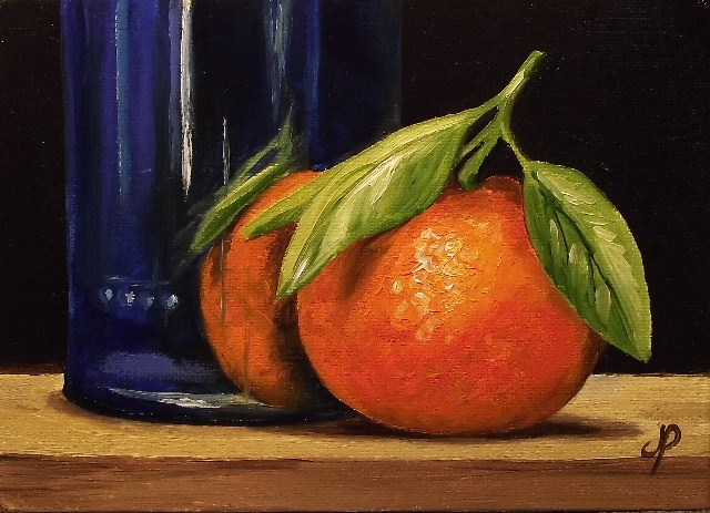 """""""Daily painting #152"""" original fine art by Jane Palmer"""