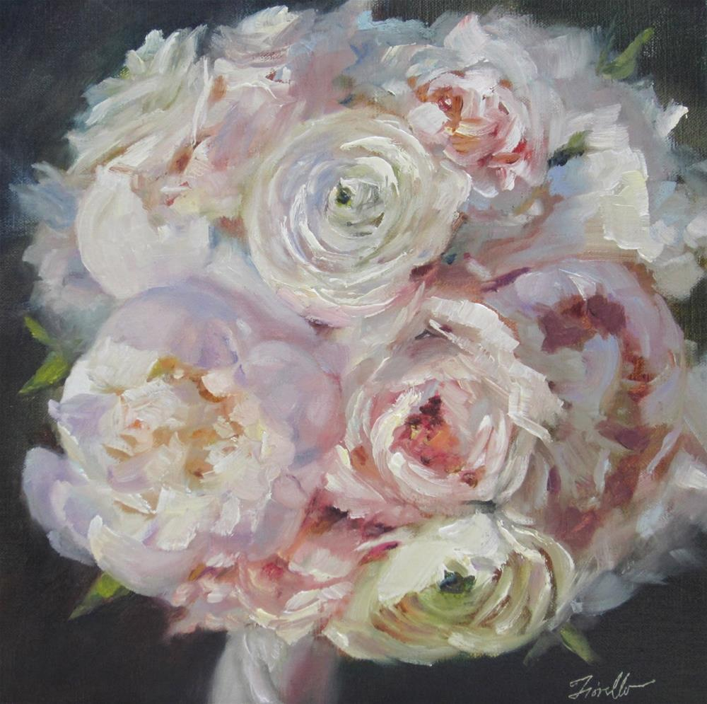 """Wedding Whites"" original fine art by Pat Fiorello"