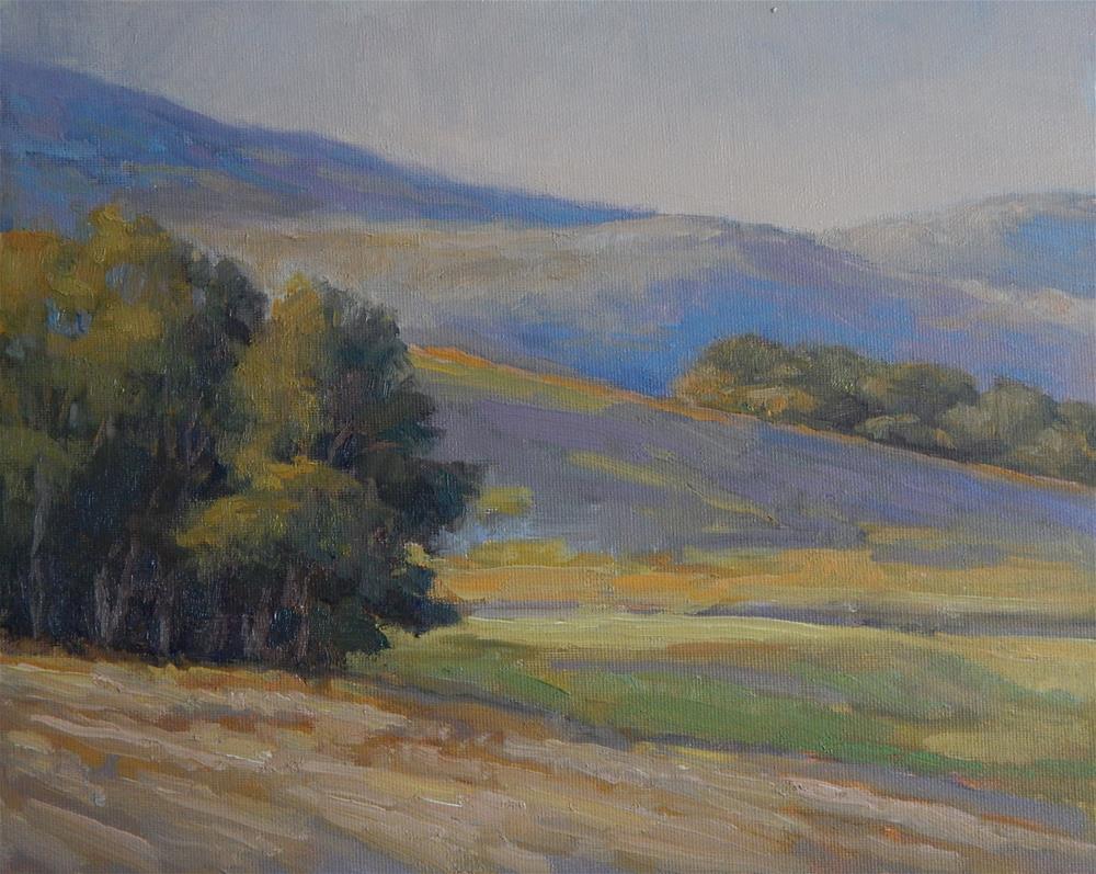 """Evening Hues"" original fine art by Lisa Kyle"