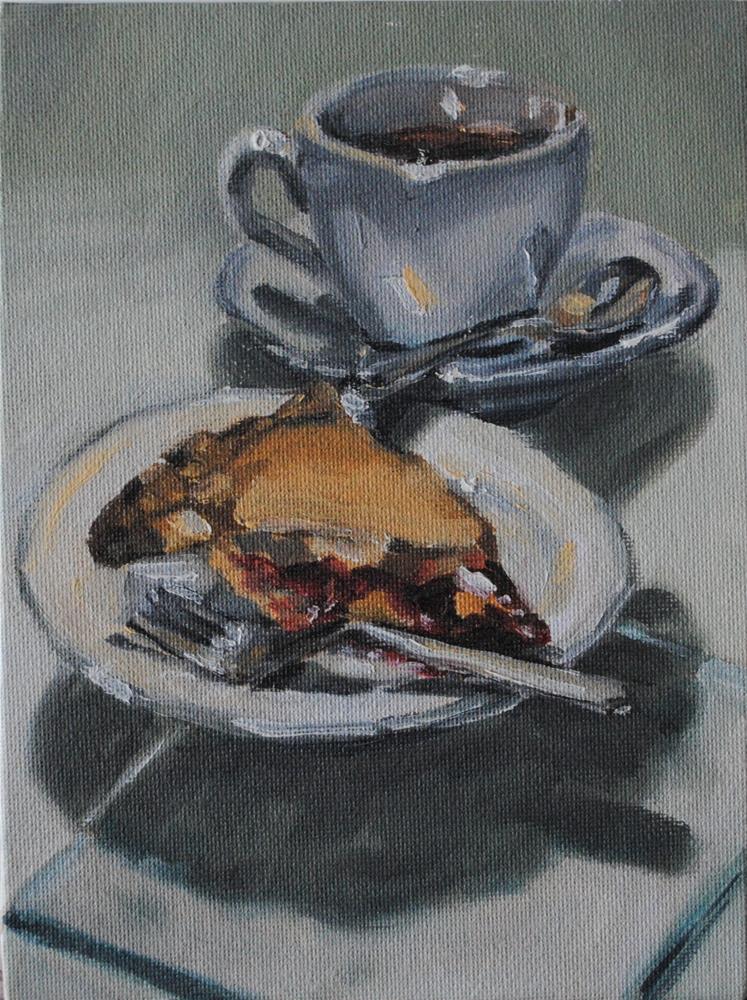 """Cherry Pie"" original fine art by Tamanda Elia"