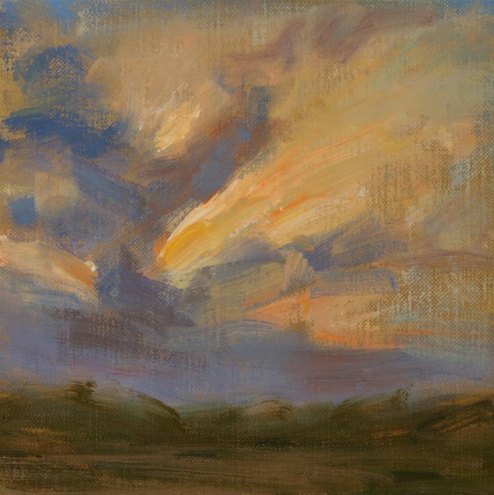 """Summer Sunrise 10"" original fine art by Scott Serafica"