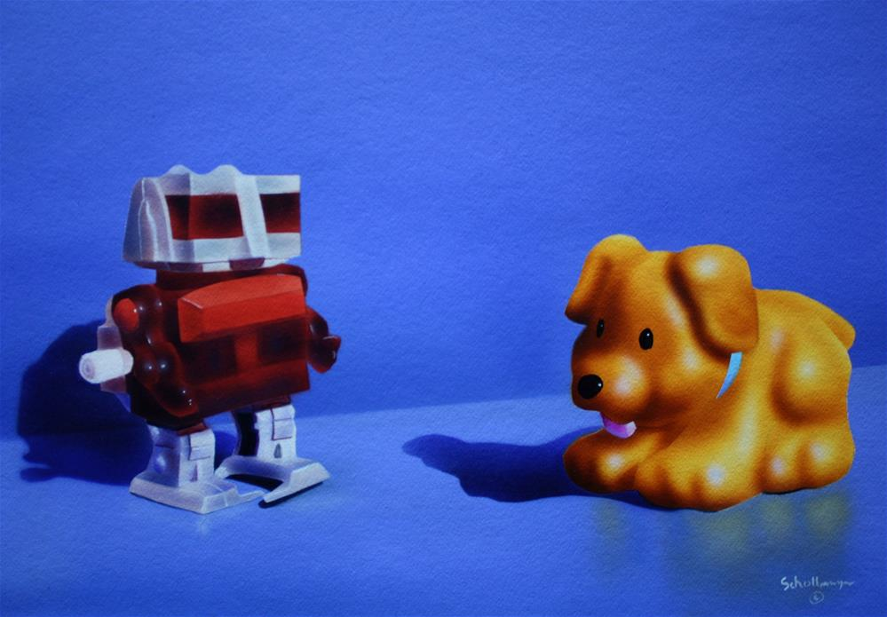 """Take Me to Your Breeder"" original fine art by Fred Schollmeyer"