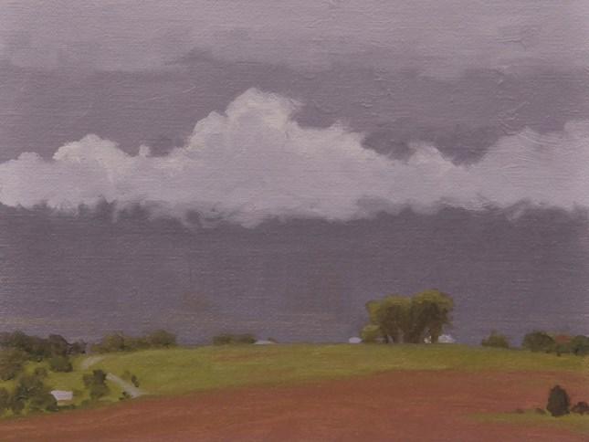 """""""Building storm"""" original fine art by Susan Matteson"""