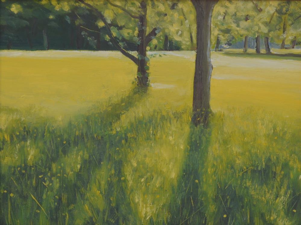 """""""Meadow Glow"""" original fine art by Peter Bain"""