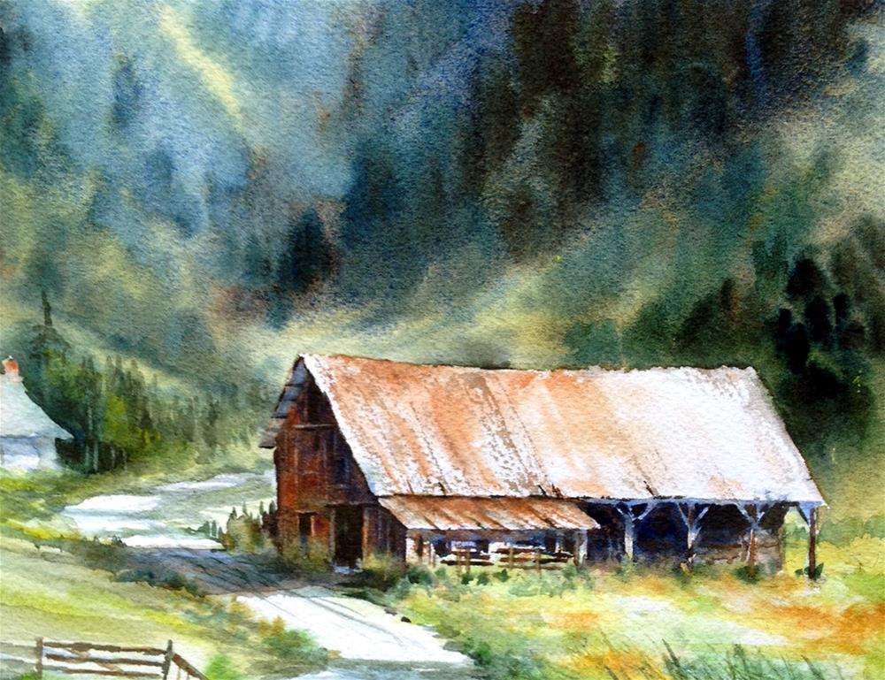 """""""In The Foothills"""" original fine art by Tina Bohlman"""