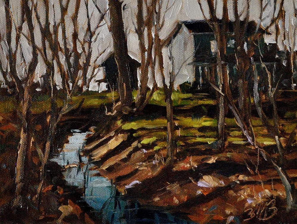 """Through the Woods"" original fine art by Brienne M Brown"