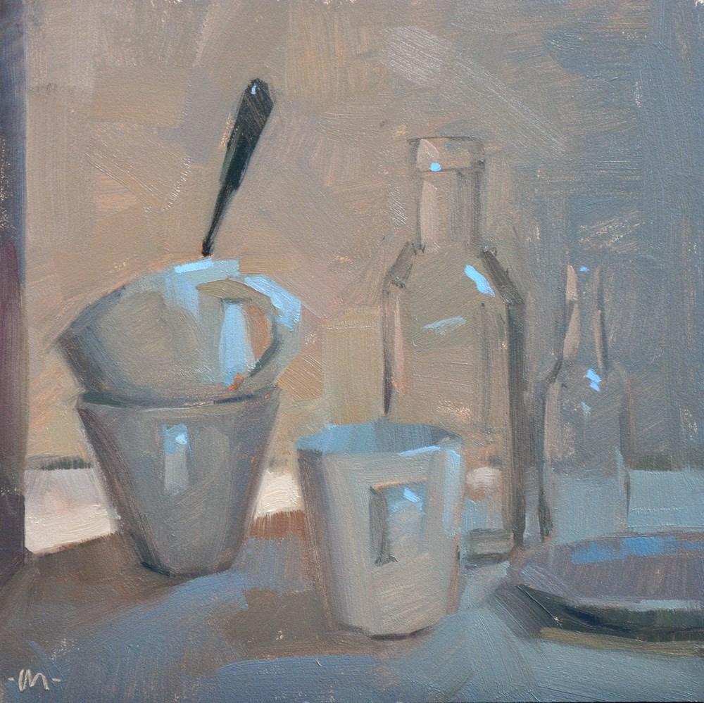 """Eavesdropping"" original fine art by Carol Marine"