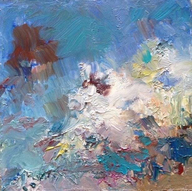 """Inspired"" original fine art by Judy Usavage"