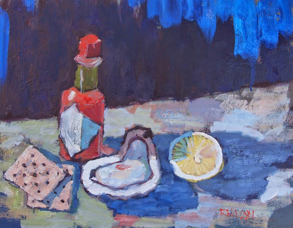 """Partly Kosher"" original fine art by Rick Nilson"