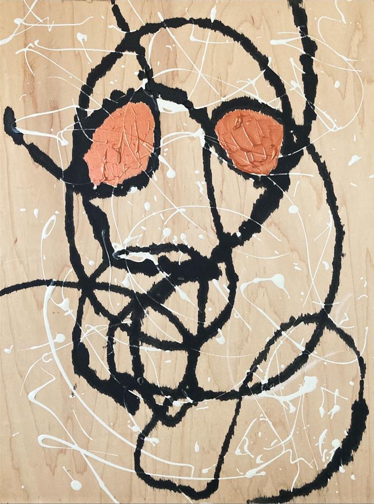 """Joe Cool"" original fine art by Kali Parsons"