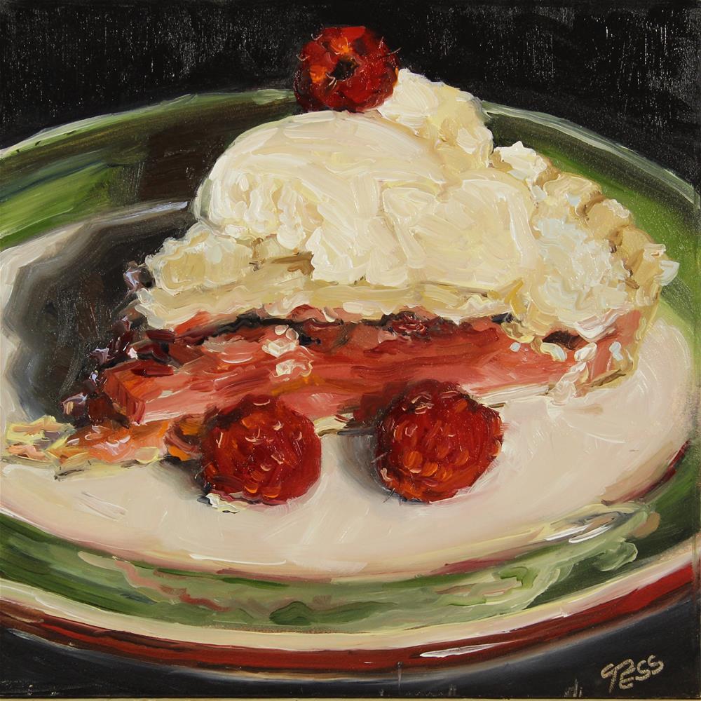 """Day 13 American Pie- Don McLean"" original fine art by Tess Lehman"