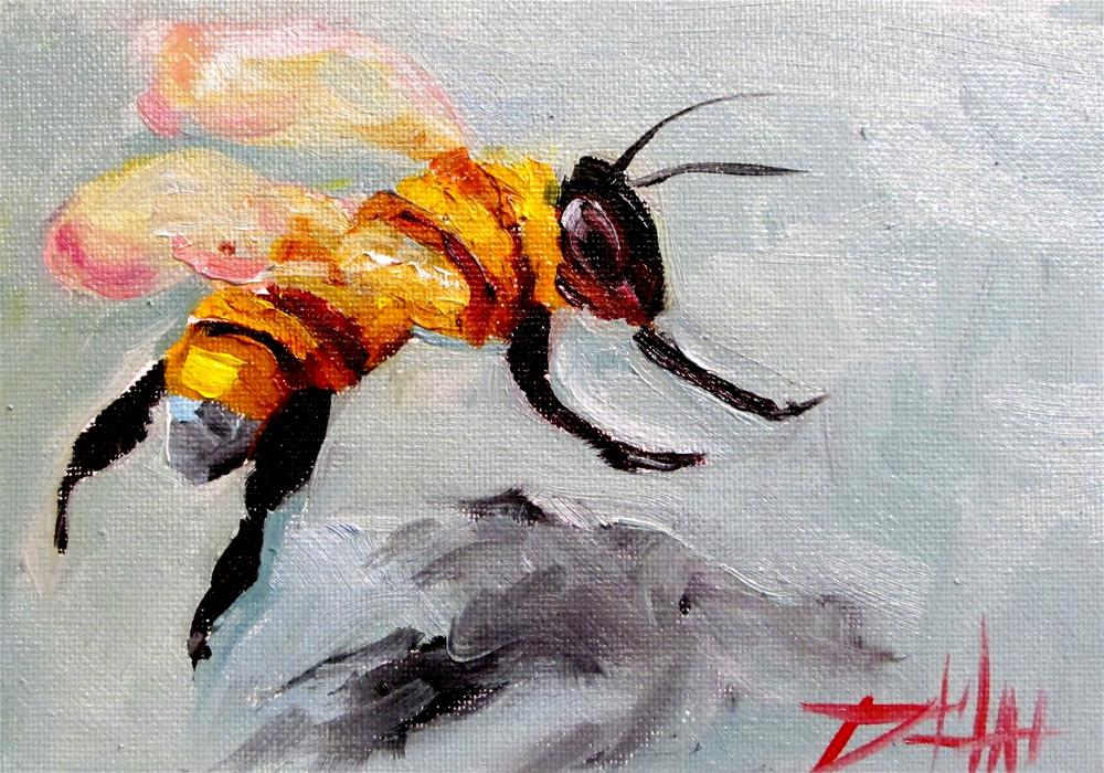 """Bee 11"" original fine art by Delilah Smith"