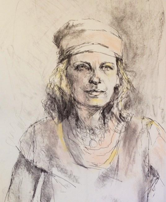 """Drawing #5-20"" original fine art by Katie Wilson"