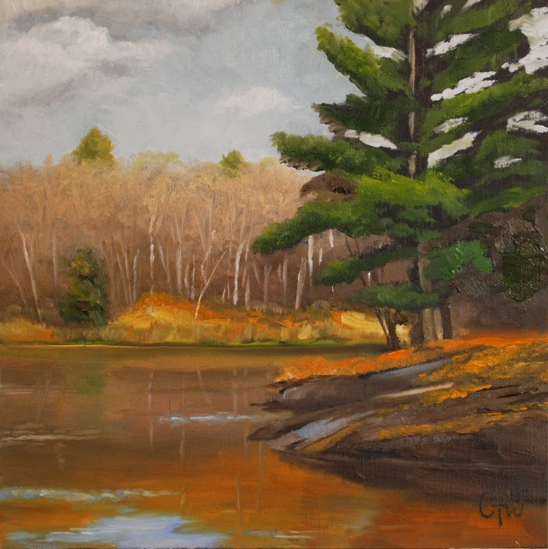 """Behind the Beaver Dam"" original fine art by Gary Westlake"
