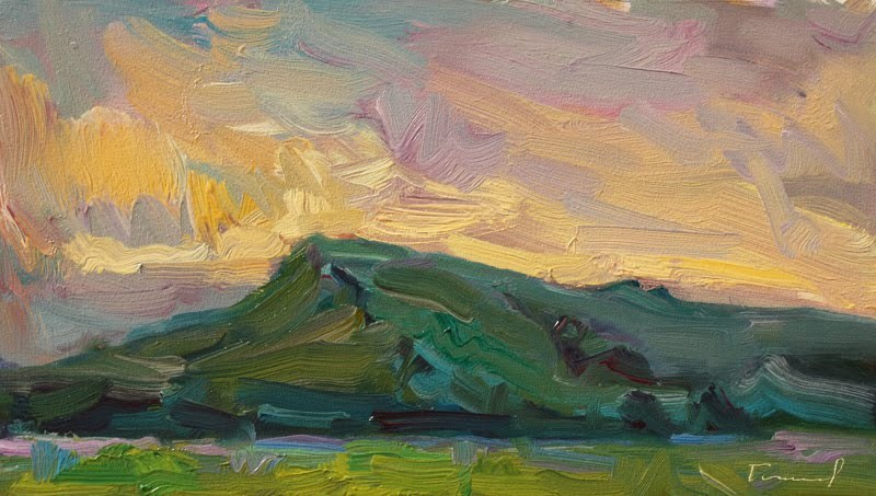 """""""From Touchet Road"""" original fine art by Kathryn Townsend"""