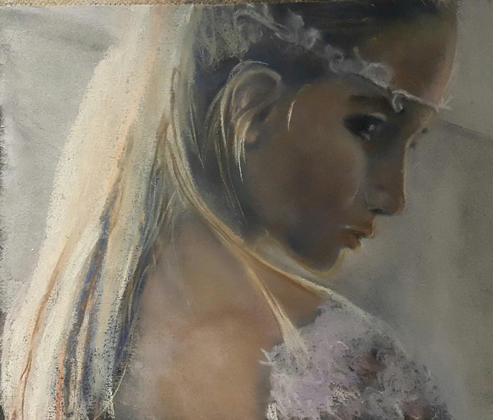 """My special day"" original fine art by Rentia Coetzee"