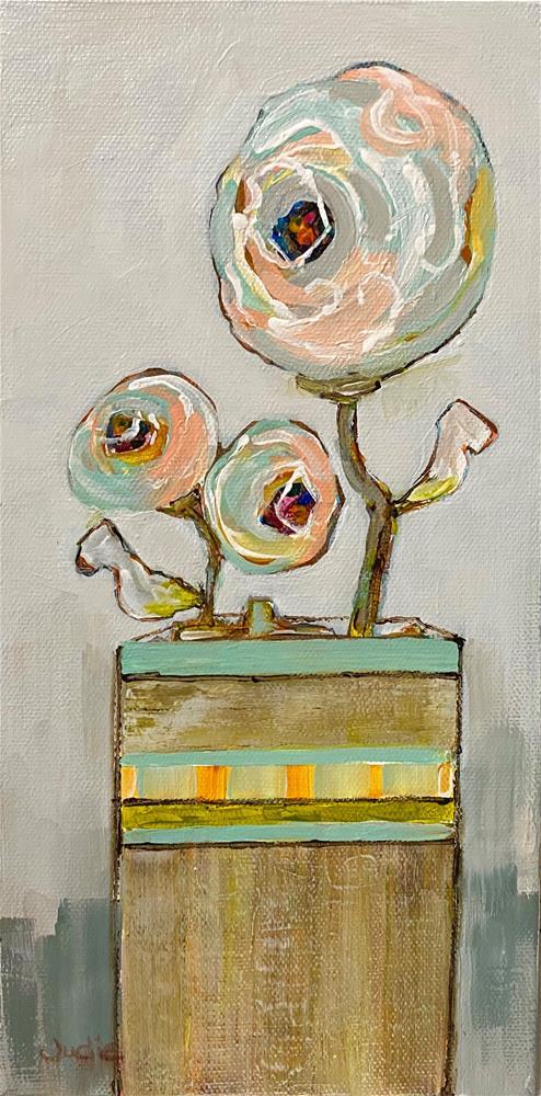 """""""WAKE UP LITTLE SUSIE"""" original fine art by Judie Mulkey"""