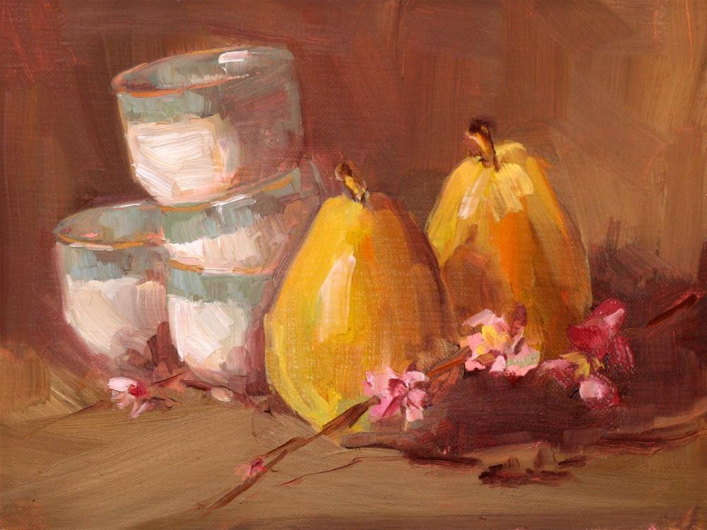 """april"" original fine art by Carol Carmichael"
