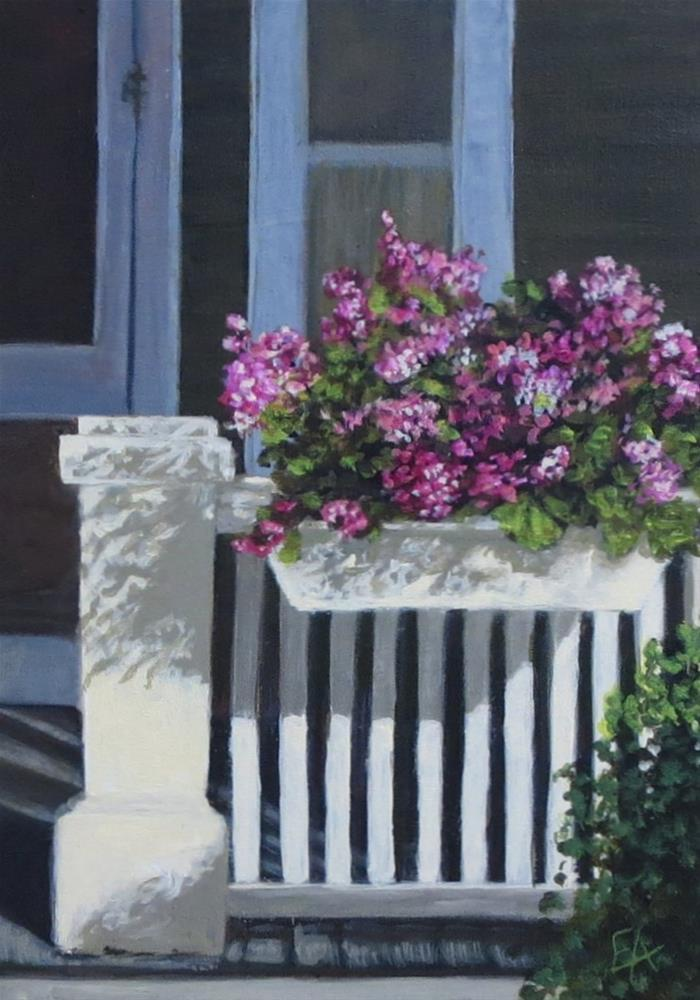 """Home Sweet Home"" original fine art by Elizabeth Elgin"
